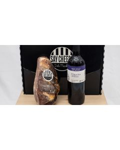 Pack Mini jamón + Vino - Say Cheese Delivery