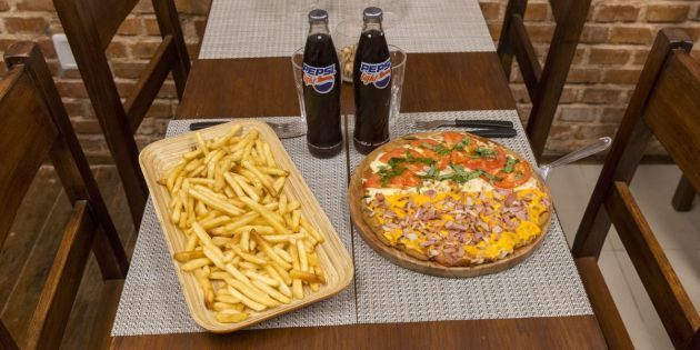 Mega Mila Pizza - BBQ  Pocitos - Local o Take away